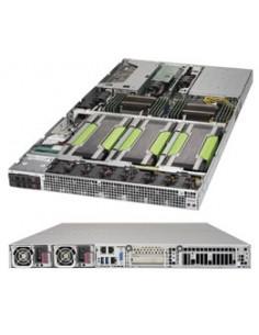 Supermicro SuperServer 1029GQ-TRT Intel® C621 LGA 3647 (Socket P) Teline ( 1U ) Musta Supermicro SYS-1029GQ-TRT - 1