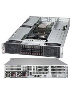 Supermicro Super Server 2029GP-TR Intel® C621 LGA 3647 (Socket P) Rack (2U) Black Supermicro SYS-2029GP-TR - 1