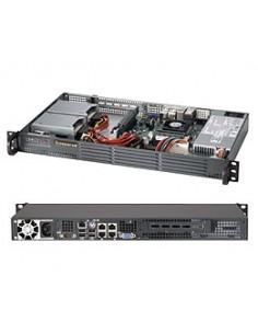 Supermicro Superserver 5017P-TLN4F Intel® QM77 Express Rack (1U) Black Supermicro SYS-5017P-TLN4F - 1