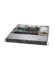 Supermicro SuperServer 5018R-M Rack (1U), - Black, Grey Intel® C612 LGA 2011 (Socket R) Supermicro SYS-5018R-M - 1