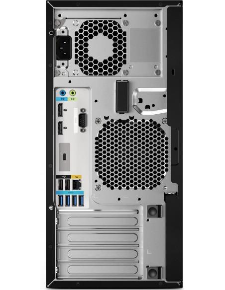 HP Z2 G4 9. sukupolven Intel® Core™ i7 i7-9700K 16 GB DDR4-SDRAM 256 SSD Musta Tower Työasema Hp 6TW97EA#UUW - 4
