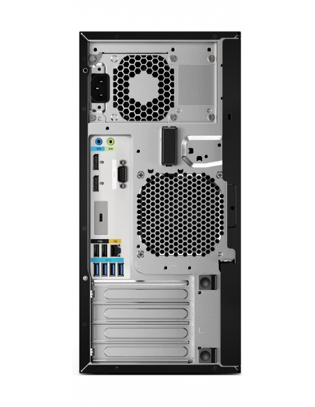 HP Z2 G4 9. sukupolven Intel® Core™ i7 i7-9700K 16 GB DDR4-SDRAM 256 SSD Tower Musta Työasema Windows 10 Pro Hp 6TW97EA#UUW - 6