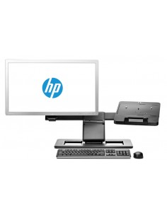 """HP Display and Notebook II Stand Musta 61 cm (24"""") Hp E8G00AA#AC3 - 1"""