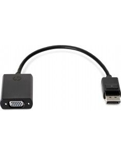 HP F7W97AA videokaapeli-adapteri 0.2 m DisplayPort VGA (D-Sub) Hp F7W97AA - 1