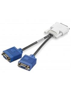 HP GS567AA cable gender changer DMS-59 2 x VGA Sininen, Valkoinen Hp GS567AA - 1