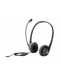HP Stereo 3.5mm Headset Kuulokkeet Pääpanta Musta Hp T1A66AA - 1