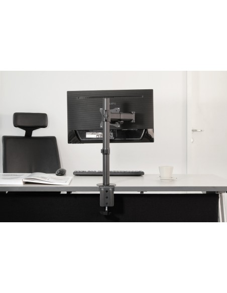 "Newstar NM-D135 76.2 cm (30"") Klämma/Genomgående skruv Svart Newstar NM-D135BLACK - 8"