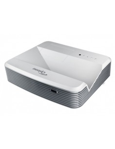 Optoma W320USTi data projector Desktop 4000 ANSI lumens DLP WXGA (1280x800) 3D Grey Optoma 95.72702GC0E - 1