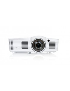 Optoma EH200ST data projector Portable 3000 ANSI lumens DLP 1080p (1920x1080) 3D White Optoma 95.8ZF01GC0E.LR - 1