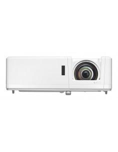 Optoma ZU606Te datorprojektorer Portabel projektor 6300 ANSI-lumen DLP WUXGA (1920x1200) 3D kompatibilitet Vit Optoma E1P1A3NWE1
