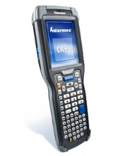 "Intermec CK71a mobiilitietokone 8.89 cm (3.5"") 480 x 640 pikseliä Kosketusnäyttö 584 g Musta Intermec CK71AB4DC00W4100 - 1"