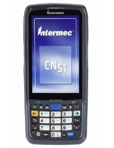 """Intermec CN51 RFID-handdatorer 10.2 cm (4"""") 480 x 800 pixlar Pekskärm 350 g Svart Intermec CN51AN1NCU2W1000 - 1"""