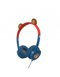 IFROGZ Headphone-Little Rockerz Costume-With Buddy Jack and Coiled Cable-FG-Bear Zagg 304101845 - 1
