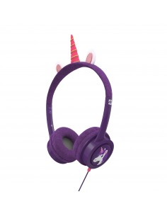 IFROGZ Headphone-Little Rockerz Costume-With Buddy Jack and Coiled Cable-FG-Unicorn Zagg 304101847 - 1
