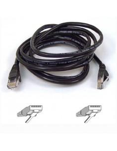 Belkin CAT 5 PATCH CABLE nätverkskablar Svart m Belkin A3L791B05M-BLK - 1