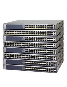 Netgear M5300-28GF3 Hallittu L2+ Power over Ethernet -tuki 1U Hopea Netgear GSM7328FS-200NES - 1