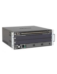 Netgear M6100-44GF3 Hallittu Gigabit Ethernet (10/100/1000) 4U Musta, Harmaa Netgear XCM8903SF-10000S - 1