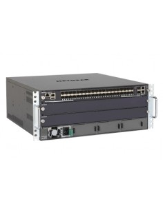 Netgear M6100-44GF3 Managed Gigabit Ethernet (10/100/1000) 4U Black, Grey Netgear XCM8903SF-10000S - 1