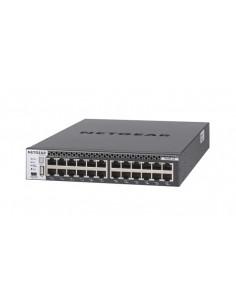 Netgear M4300-24X hanterad L3 10G Ethernet (100/1000/10000) 1U Svart Netgear XSM4324CS-100NES - 1