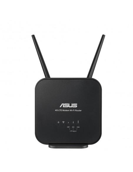 ASUS 4G-N12 B1 langaton reititin Nopea Ethernet Yksi kaista (2,4 GHz) Musta Asus 90IG0570-BM3200 - 3