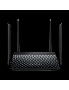 ASUS RT-N19 N600 langaton reititin Nopea Ethernet Yksi kaista (2,4 GHz) Musta Asus 90IG0600-BN9510 - 1