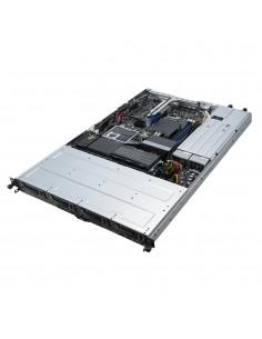 ASUS RS300-E10-RS4 Intel C242 LGA 1151 (uttag H4) Rack (1U) Svart, Metallisk Asus 90SF00D1-M00010 - 1
