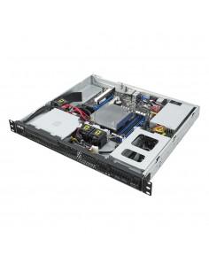 ASUS RS100-E10-PI2 Intel C242 LGA 1151 (pistoke H4) Teline ( 1U ) Musta, Metallinen Asus 90SF00G1-M00050 - 1