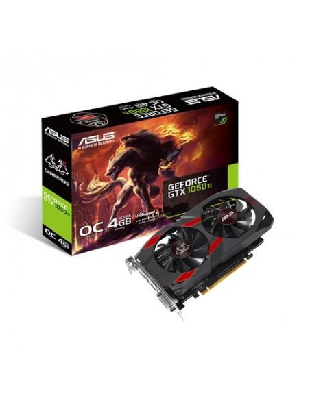 ASUS CERBERUS-GTX1050TI-A4G NVIDIA GeForce GTX 1050 Ti 4 GB GDDR5 Asus 90YV0A75-M0NA00 - 2