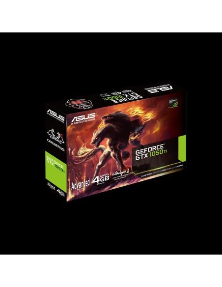 ASUS CERBERUS-GTX1050TI-A4G NVIDIA GeForce GTX 1050 Ti 4 GB GDDR5 Asus 90YV0A75-M0NA00 - 11