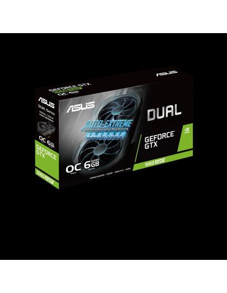 ASUS Dual -GTX1660S-O6G-EVO NVIDIA GeForce GTX 1660 SUPER 6 GB GDDR6 Asus 90YV0DS3-M0NA00 - 7