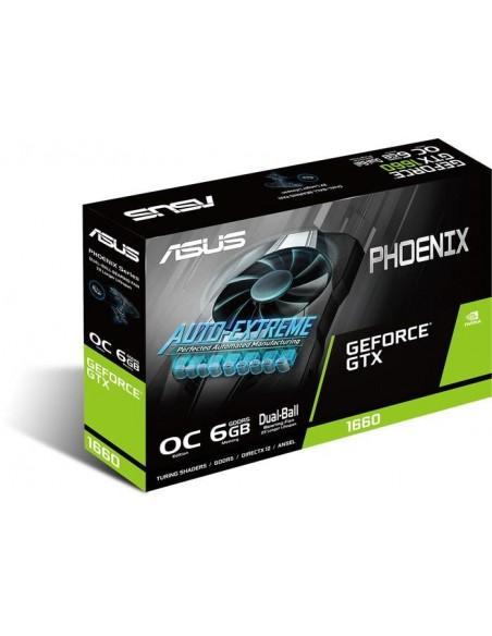 ASUS Phoenix PH-GTX1660S-O6G NVIDIA GeForce GTX 1660 SUPER 6 GB GDDR6 Asus 90YV0DT0-M0NA00 - 4