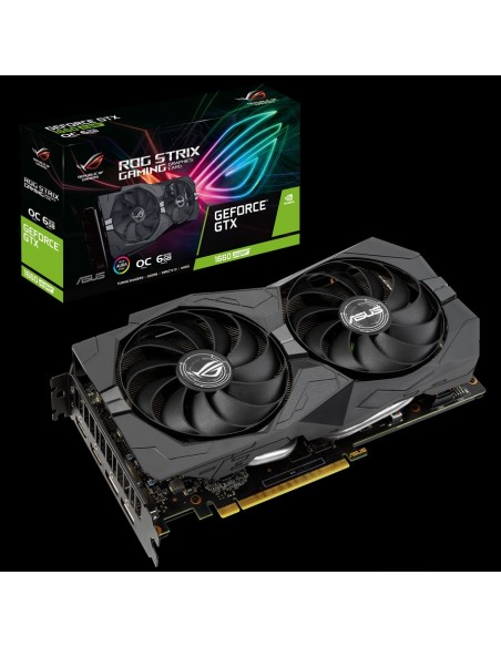 ASUS ROG GTX1660S-O6G-GAMING NVIDIA GeForce GTX 1660 SUPER 6 GB GDDR6 Asus 90YV0DW0-M0NA00 - 1