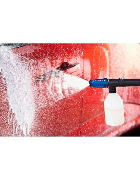 Nilfisk D 140.4 högtryckstvätt Kompakt Elektrisk 550 l/h 2400 W Svart, Blå Nilfisk 128471177 - 4