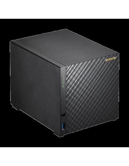 ASUS AS3104T NAS Ethernet LAN Black N3050 Asustek 90IX00P1-BW3S10 - 3