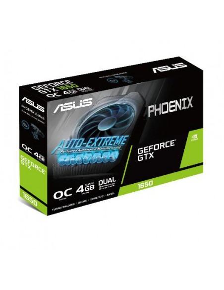 ASUS Phoenix PH-GTX1650-O4GD6 NVIDIA GeForce GTX 1650 4 GB GDDR5 Asustek 90YV0EH2-M0NA00 - 10