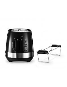 DeLonghi Toaster Active Line CTLA 2103.BK 2 skivor 900 W Svart Delonghi CTLA 2103.BK - 1