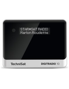 TechniSat DIGITRADIO 10 Personal Analog & digital Black, Silver Technisat 0000/3944 - 1