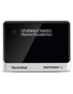 TechniSat DIGITRADIO 10 Personal Analog och digital Svart, Silver Technisat 0000/3944 - 1
