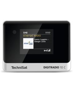 TechniSat DIGITRADIO 10 C Henkilökohtainen Analoginen & digitaalinen Musta, Hopea Technisat 0000/3945 - 1