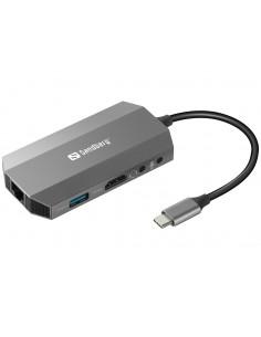 Sandberg USB-C 6-in1 Travel Dock Sandberg 136-33 - 1