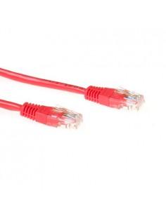 ACT IB8500 nätverkskablar Röd 0.5 m Cat6 U/UTP (UTP) Suomen Addon 305220-6 - 1
