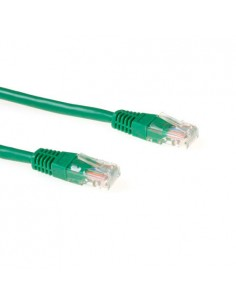ACT Green 10 metre UTP CAT6 patch cable with RJ45 connectors Suomen Addon 305247-6 - 1