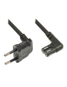 Alcasa 1550-SO030 power cable Black 3 m CEE7/16 C7 coupler Suomen Addon 92004474 - 1