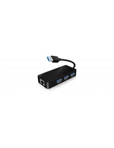 RaidSonic IB-AC517 USB 3.2 Gen 1 (3.1 1) Type-A Musta Raidsonic 70545 - 1