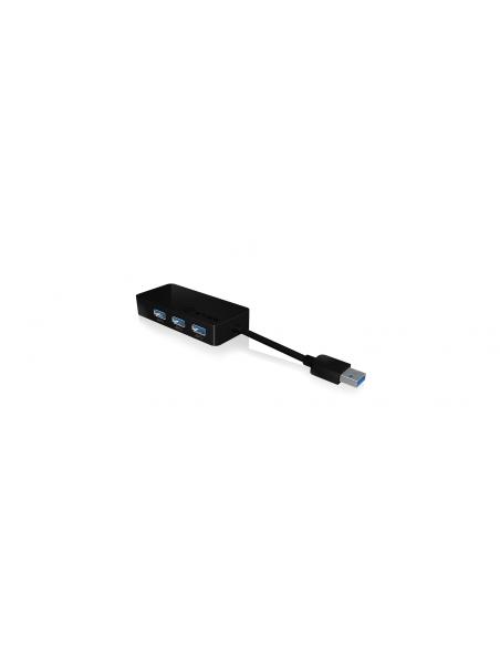 RaidSonic IB-AC517 USB 3.2 Gen 1 (3.1 1) Type-A Black Raidsonic 70545 - 2