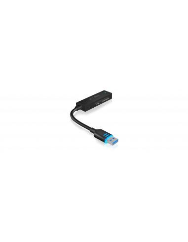 ICY BOX IB-AC603L-U3 USB 3.0 SATA Svart Raidsonic 70630 - 1