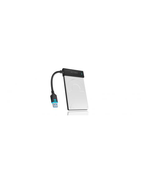 ICY BOX IB-AC603L-U3 USB 3.0 SATA Svart Raidsonic 70630 - 3