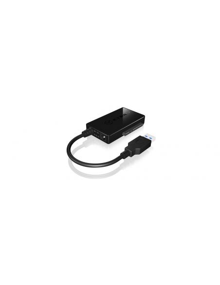 ICY BOX IB-AC704-6G nätverkskort/adapters USB 3.2 Gen 1 (3.1 1) Raidsonic 70650 - 3