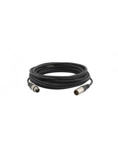 Kramer Electronics XLR Quad Style, 1.8m audio cable (3-pin) Black Kramer 95-1211006 - 1
