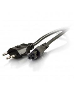 C2G 2m, SEV 1011 - C5 IEC Svart coupler C2g 80647 - 1